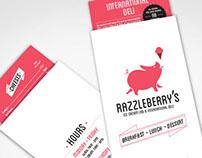 Razzleberry's branding