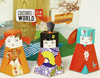 Kleenex tissue packaging: Cultures of the world