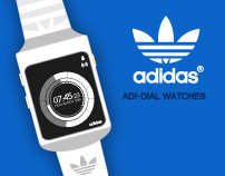 Adidas Adi-dial Watches Concept