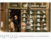 PORTFOLIO   NYC STORE REPORTS   APRIL 2013