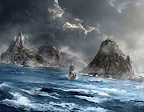 concept | matte painting | Tv Series