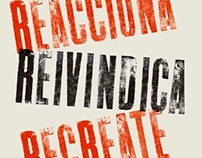Reacciona, Reivindica, Recreate -projecte d'universitat