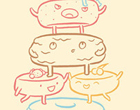 Cake Castellers (Threadless Tee)