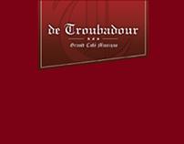 DE TROUBADOUR COCKTAILKAART