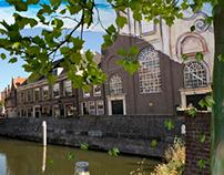 Delfshaven in de Valentijnschool, Rotterdam