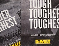 DeWalt Advertisement Campaign - Addy Silver
