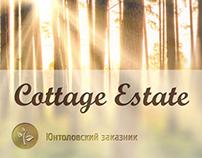 design of website for Cottage estate