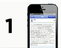 Hi Carolyn: A Siri to Google Voice Experiment