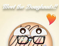 Meet the Doughnuts: No Baking Required!