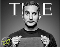 Time Magazine - Bassem Youssef's Cover