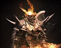 Death Legion:Heavy infantry reaper soldier.