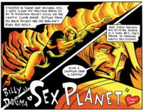"Billy Dogma in ""Sex Planet"""