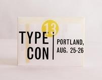 Type3 // TypeCon redesign-Portland Oregon, infographic