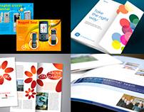 leaflet and brochure design