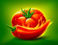 Carrefour Hot Ketchup