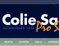 Colie Sails: Website Revamp