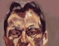 Copy of Lucian Freud's Self Portrait