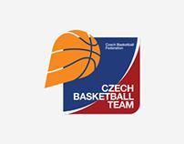 Czech Basketball Team Logo Family
