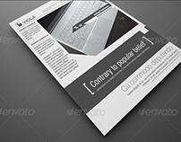 Clean creative flyer