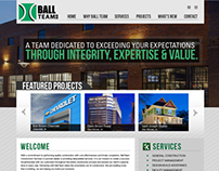 Ball Team Website