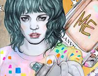 Illustration for Nylon magazine,May 2013