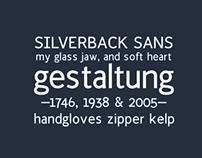 Silverback Typeface
