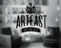 ART EAST - hotel visual identity