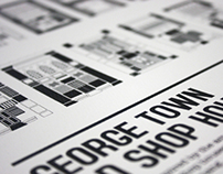 George Town Old Shophouses Typeface