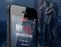 Levi's - My 501 Interpretation / Mobile Campaign