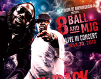 Throwback Thursday Flyer: 8Ball & MJG