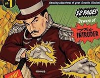 Ben Eagle  50's comic book art