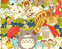 Ghibli Family