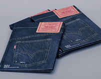Levi's® 501® 140th Anniversary Booklet