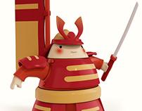Ninja and samurai toys