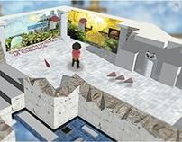 Interactive Virtual Art : An Exhibit