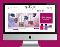 Color Club - Web Design, E-commerce