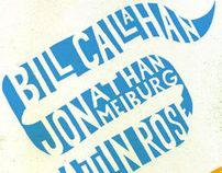 Bill Callahan Show Poster