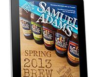 Sam Adams Catalog for Tablet Design