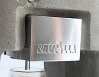 Concrete Lavazza Espresso Machine