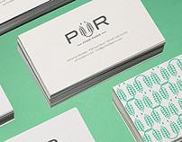 PÜR food paris branding