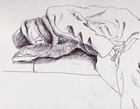 Drawings in NYC Subway - part 01