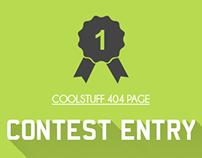 CoolStuff 404 Error Page