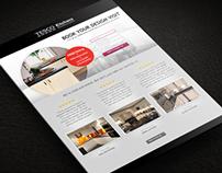 Tesco Kitchens landing page