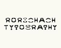 rorschach typography