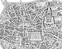 Norwich Map and Illustrations