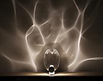 Ripple lamp by Studio shikai + Poetic Lab