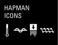 Hapman Icons