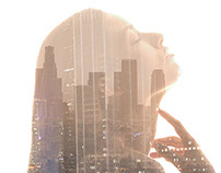 Double Exposure Imagery by Caesar Lima