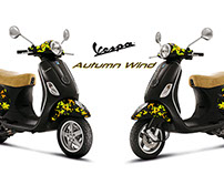Vespa Graphic Design Works