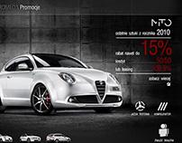 Alfa Romeo / sale out website /